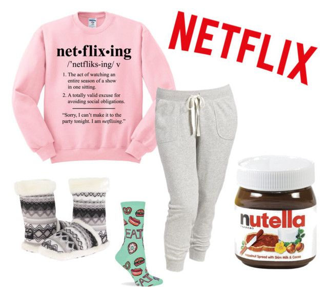 For anyone who is victim of netflixing on occasion – or on the daily for that matter. Wear this top that features a graphic defining what netflixing really means while binge-watching your favorite Net