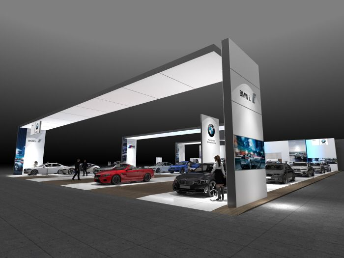 BMW LA By Paul Wigfield At Coroflot Exhibition StandsExhibit DesignBmw