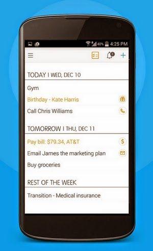 El Repertorio de Refritos: El excelente asistente personal 24me para iOS, ahora disponible para Android