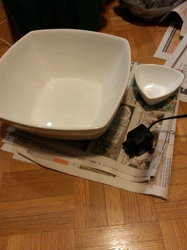 152 beste afbeeldingen van kittycat for Diy cat water fountain