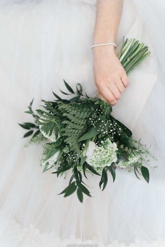 Лесной букет невесты