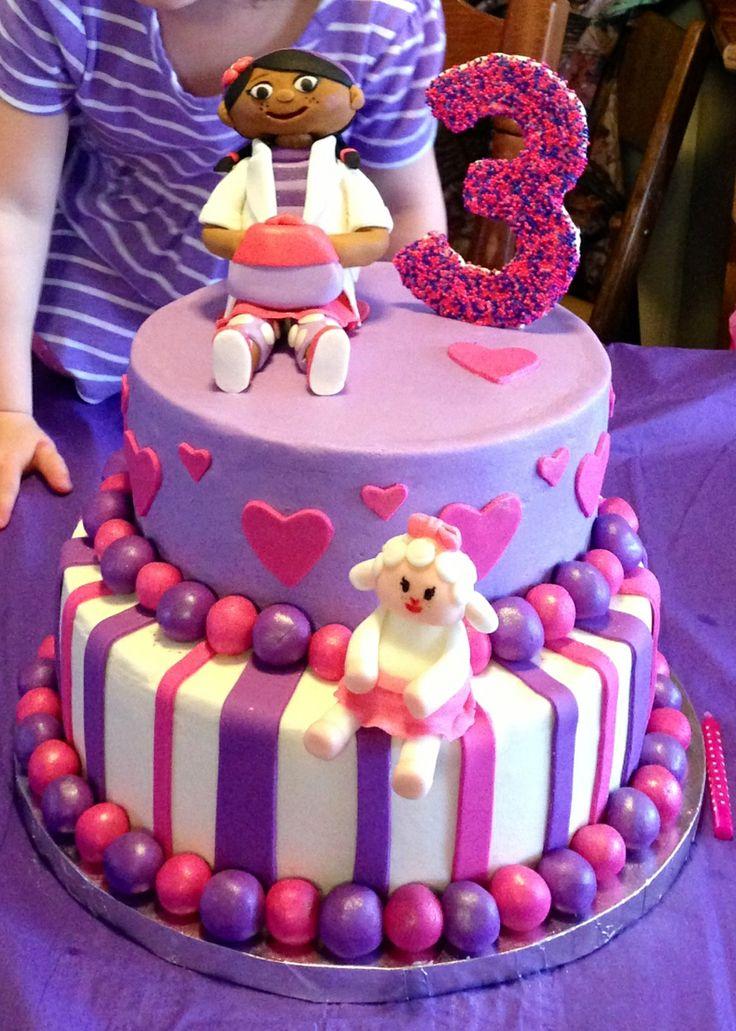 Doc Mcstuffins Layer Cakes