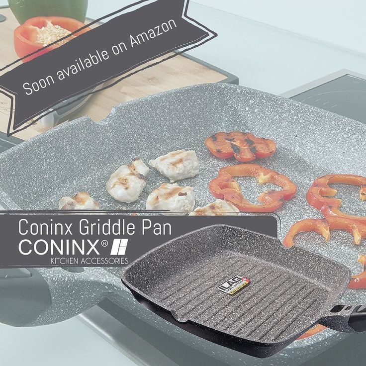 Our new Coninx Griddle Pans are suitable for use on ALL HOB TYPES including halogen gas electric induction and ceramic. Soon available on Amazon! Check the link in Bio for more info.  #griddlepan #griddle #pan #kitchenaccessories #kitchen #kitchendetails #kitchendesign #kitchentools #amazon #baking #cooking #coninx #instafollow #likeforlike #follow #knifestorage #knife #kitchenknives #design #keuken #keukenaccessoires #keukendetails #keukendesign #cook #meat #nonstick #aluminium