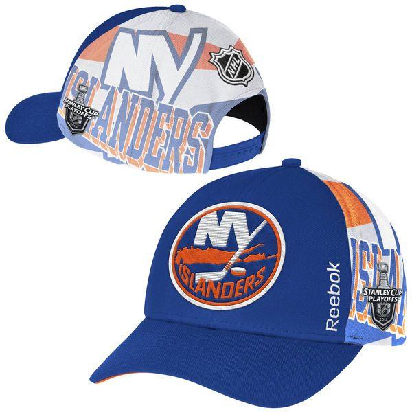 Men's New York Islanders Reebok Royal Blue 2015 Stanley Cup Playoffs Adjustable Hat, Price: $29.99