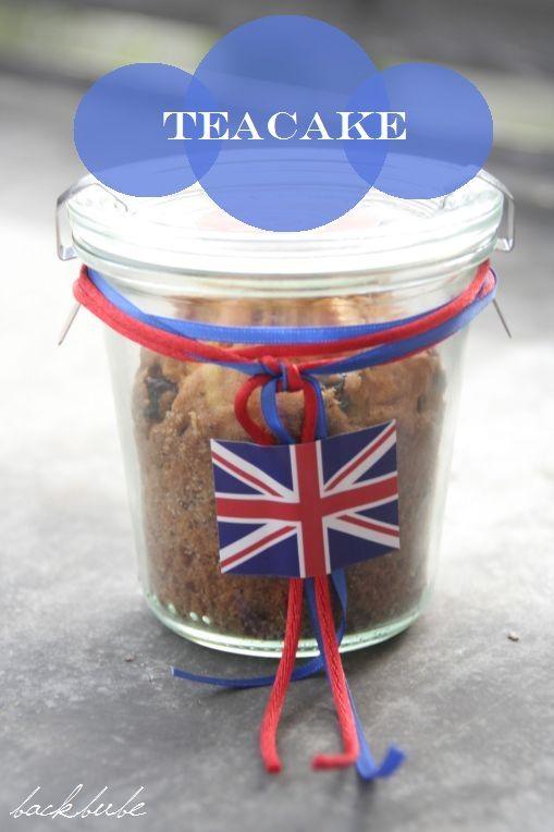 Englischer Teekuchen im Glas