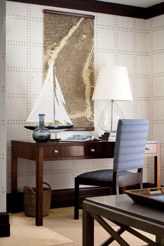 Designer Lisa Sternfeld Of LSID Interior Design Architecture Featured Rivets 5705 Champagne On Ivory Manila Blog WallpaperInterior