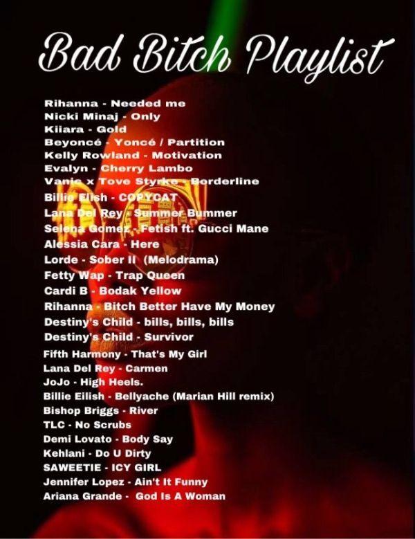 Die ultimative Bad Bitch-Playlist! #badbitch #playlist #songs #aesthetic #music von lucinda