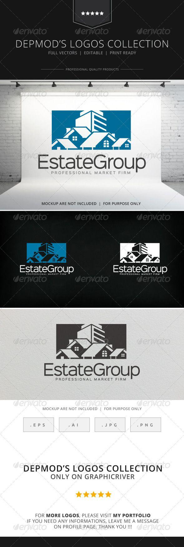 fir letter format%0A Estate Group V    Logo