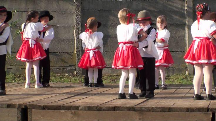Szüreti fesztivál ovisok tánca