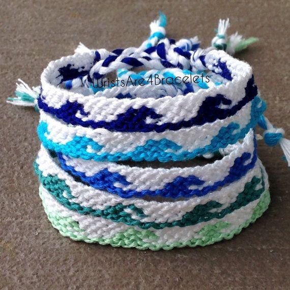 Ocean Wave Friendship Bracelets - Ocean Jewelry - Summer Jewelry - Best Seller