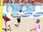 Beach Soccer - FINALI: il bomber del Viareggio Gabriele Gori, nonostante abbia saltato qualche gara in tutto ha segnato 14 gol