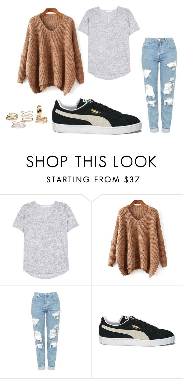 fall by missmikey on Polyvore featuring rag & bone, Topshop and Puma