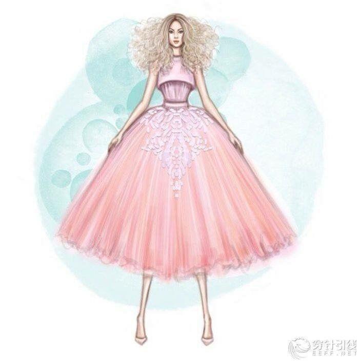 Mejores 33 imágenes de Váy en Pinterest   Ilustraciones de moda ...