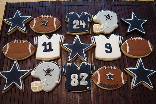Dallas Cowboys Cookies
