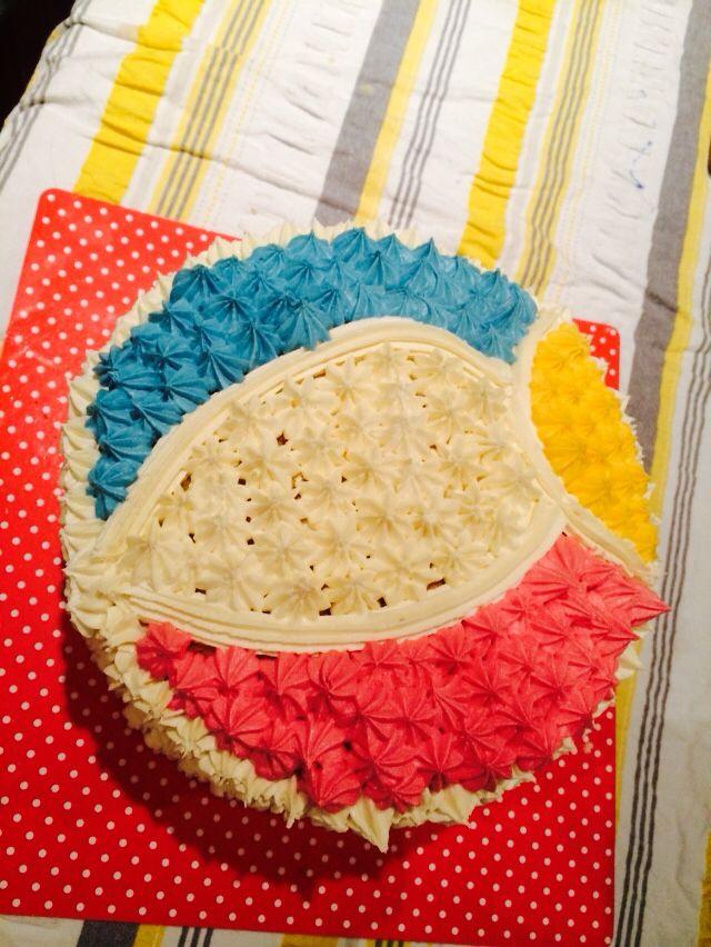 Tristan's Beachball cake