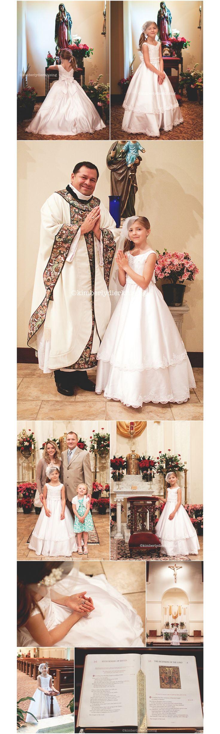 Kimberly Dierkhising Photography » Blog #first communion