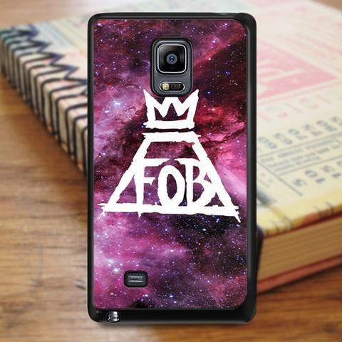 Fall Out Boy Logo Nebula Samsung Galaxy Note 3 Case