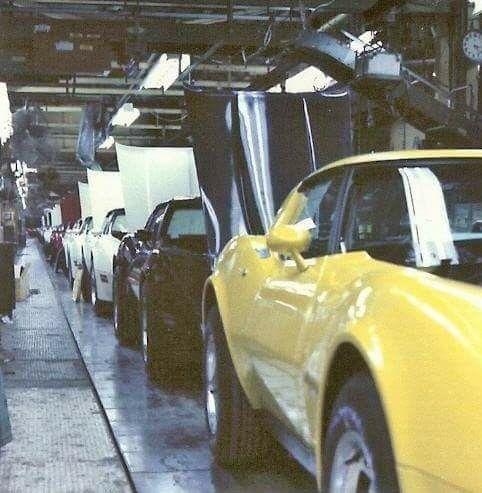 C3 Corvette Production