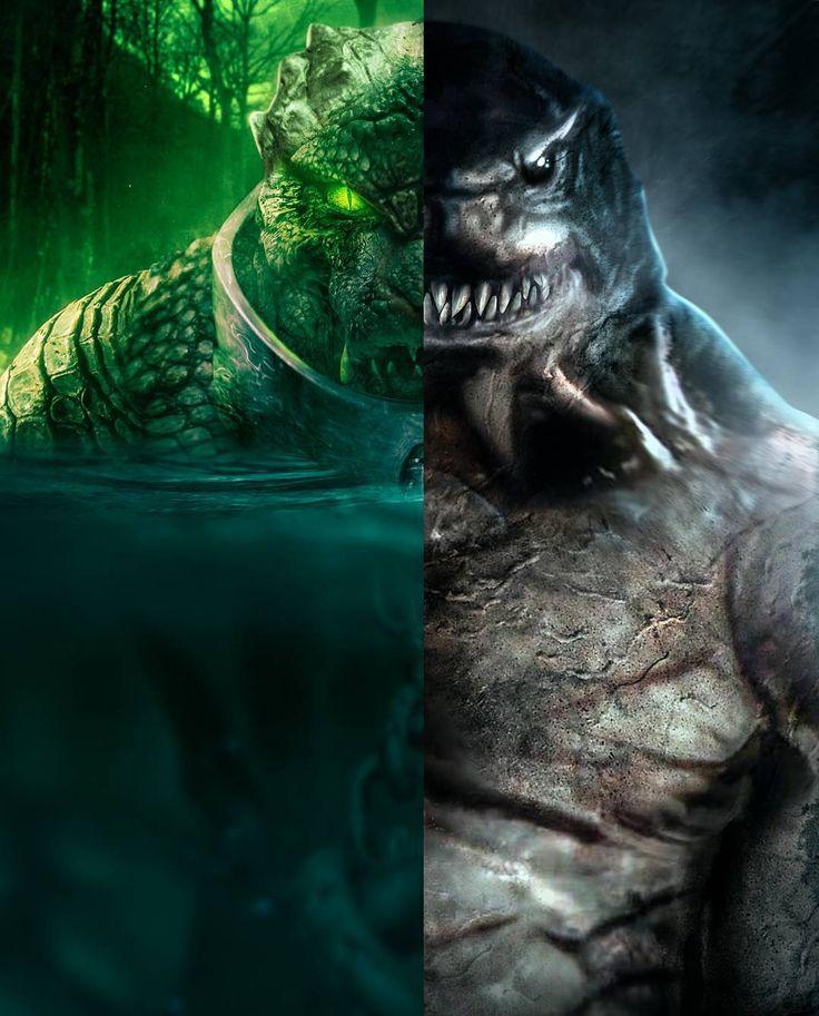 King shark vs killer croc - photo#35