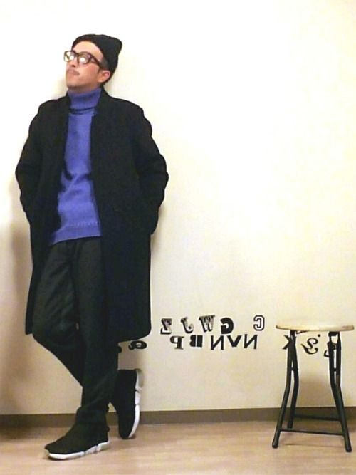 久々コーデ 黒 ✕ 紫 !!! 以上(笑)