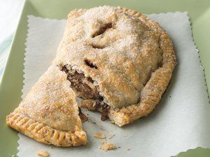 Click Picture to See Recipe - Toffee Apple Turnover Pie