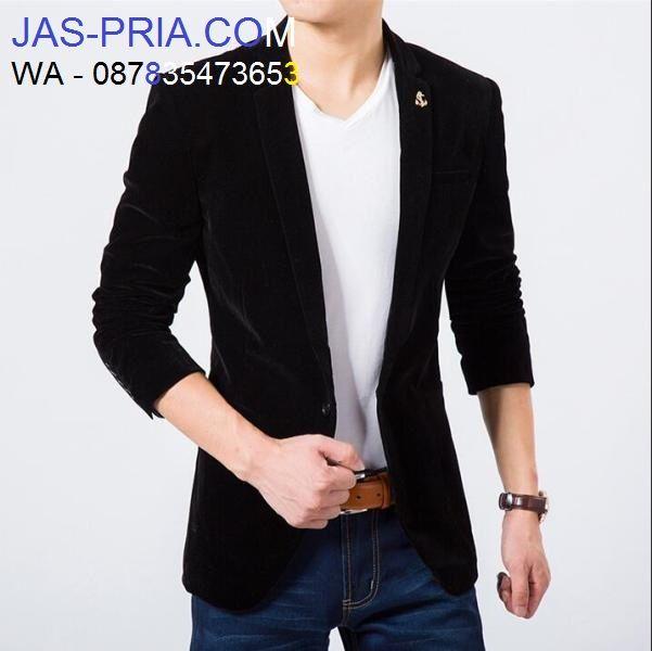 harga murah kualitas terbaik siapa yang tidak mau memdapatkan baju jas pria model blazer slimfit korea ini