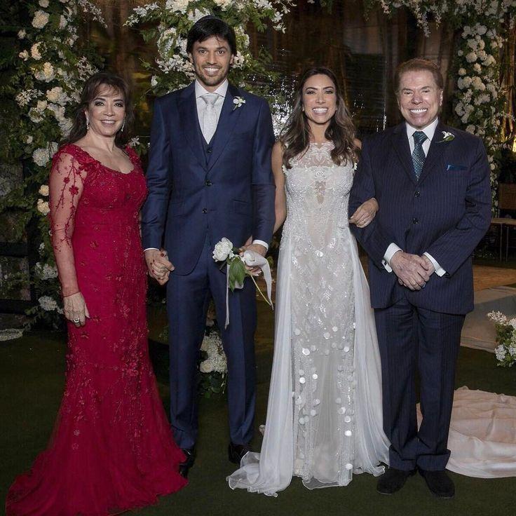 Casamento Patricia Abravanel e Fábio Faria -