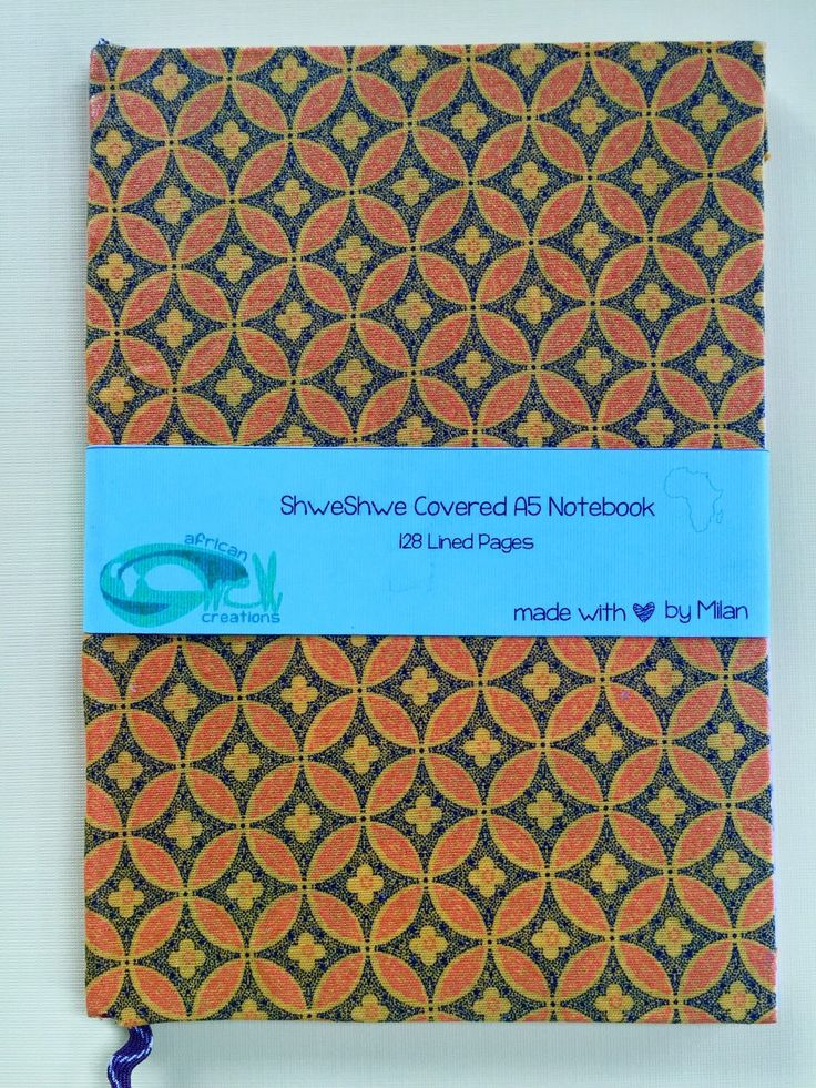 A personal favorite from my Etsy shop https://www.etsy.com/listing/263260703/blue-floral-shweshwe-a5-notebook