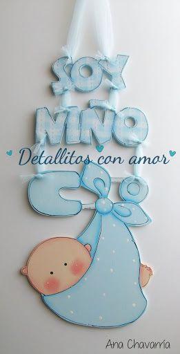 Letrero para puerta ツ https://www.facebook.com/pages/Detallitos-con-amor/226388200757614?ref=br_rs