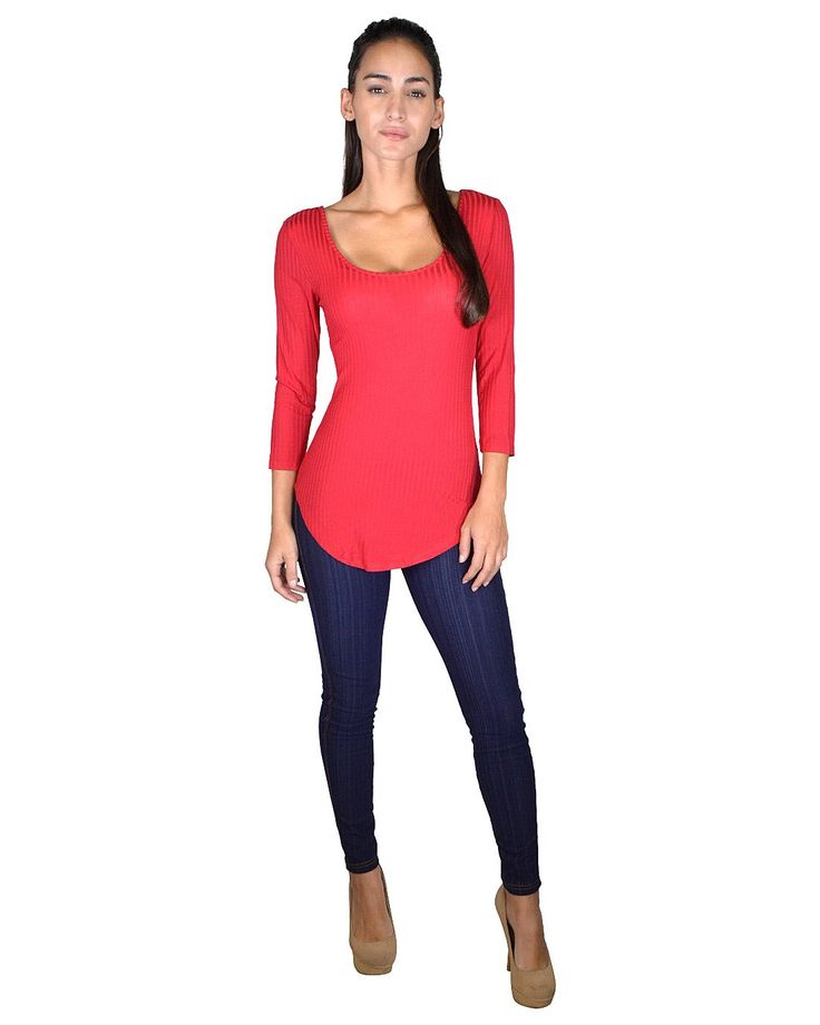 Scoop Neckline Curved Hem Top with Stylish Back in Just $7.99 #affordable plus size clothing, #buy cheap clothes online, #buy clothes online, #buy clothes online, #cheapclothes, #cheap clothes for women, #cheap clothes online, #cheap clothing, #cheap clothing online, #cheap clothing sites, #cheap clothing stores, #cheap clothing stores online, #cheap clothing websites, #cheap fashion clothes, #cheap fashionable clothes, #cheap junior clothing, #cheap online clothing stores, #cheap online