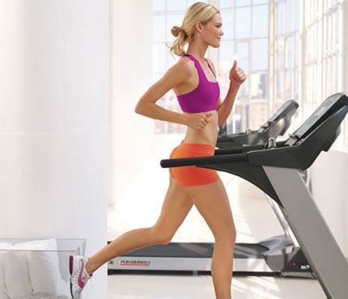 Lauren Conrad's treadmill interval workout