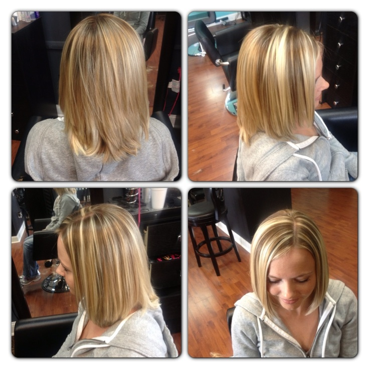 Blonde Highlights And Low Lights Hair By Moi Pinterest