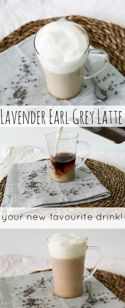 Tired of your regular cup of tea? Surprise yourself and switch it up a bit with this lavender earl grey latte! Recipe at Stay Alive and Cooking.
