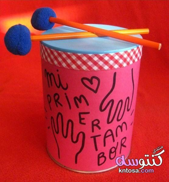 كيفية صنع الة موسيقية في المنزل صنع الات موسيقية للاطفال من خامات البيئة كيفية عمل طبلة في البيت Kntosa Com 20 19 155 Fruit Costumes Diy Glassware