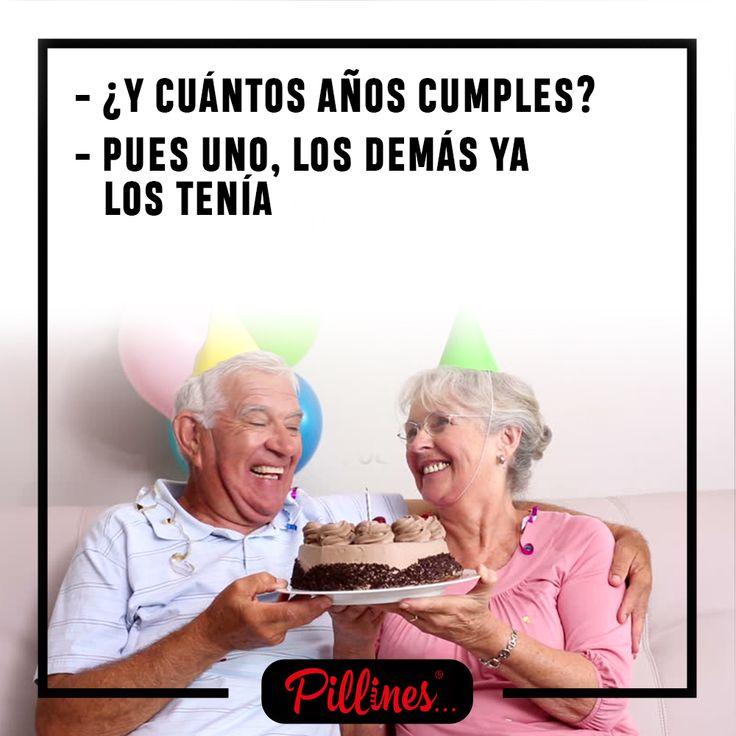 La pregunta que no puede faltar cuando cumplimos años #Humor #Edad #Cumpleaños