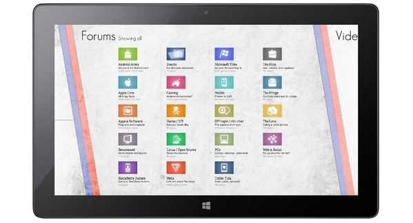 The Verge on Win8 (concept) on Behance