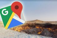 Google Maps Street View: Has the Gate to Hell finally been discovered? -  Google Maps  Google Maps Street View: Is this a sign of the End of the World?  Google Maps Street View - developed in 2007 two years after Google Maps - is often used by people looking to plan their directions or look up an address.  It has also captured a number of beautiful landmarks and natural phenomena over the years.  Yet the website has found what appears to be the End of the World coming with directions to…