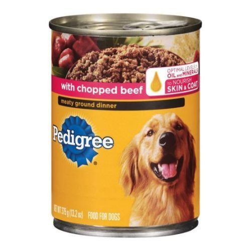 Pedigree Meaty Ground Dinner with Chopped Beef Wet Dog Food, 13.2 Ounce -- 12 per case. ** Tried it! Love it! Click the image.