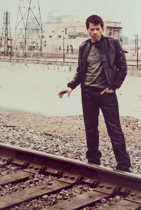 All I can think of is Misha planning who he's going to tie to the tracks
