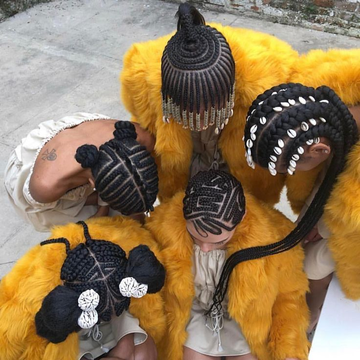 Tribal Braids Collection By : Creativex Hands The perfect linings, crowning of the hair with beads and cowrie, the complicated braids and strength of our african hair is all that the tribal hair st…