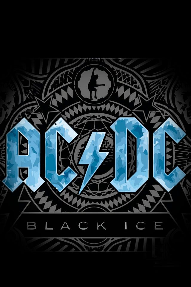 American hippie music art ac dc black ice music - Classic art wallpaper iphone 5 ...