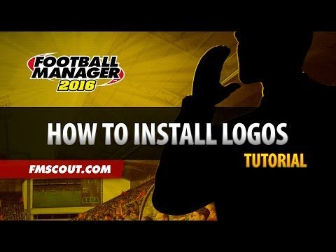 How to Install Logos - Football Manager 2016 - YouTube