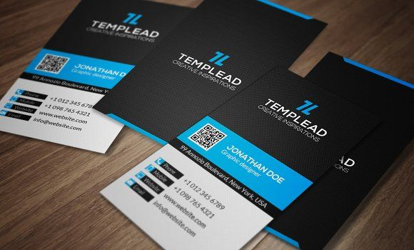 Corporate Business Card Cm0039 By Annozio On Creativemarket Corporate Business Card Business Card Template Design Business Cards Creative Templates