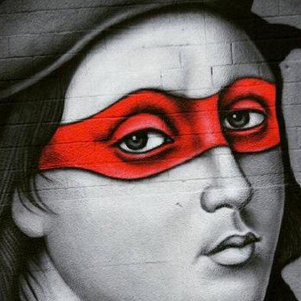 RT @R_ArtNinja: Owen Dippie #artninja #tmnt #Raffaello #Sanzio #reinassance #streetart #museoideale #mocreative #enjoythecommunity http://t.co/d2B43zstio