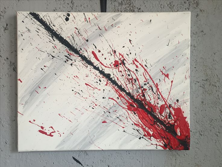 Abstract art, painting by Sylwia Balicka