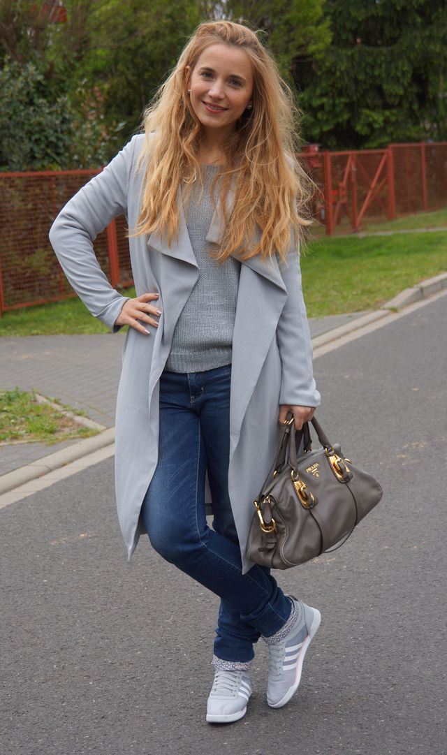 Outfit: Graue Maus-Look - GlamourSister.com