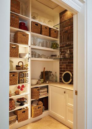 The most organised pantry ever! Wairangi House architecture by Bijl Architecture, Sydney. Photo: Peter Bennetts