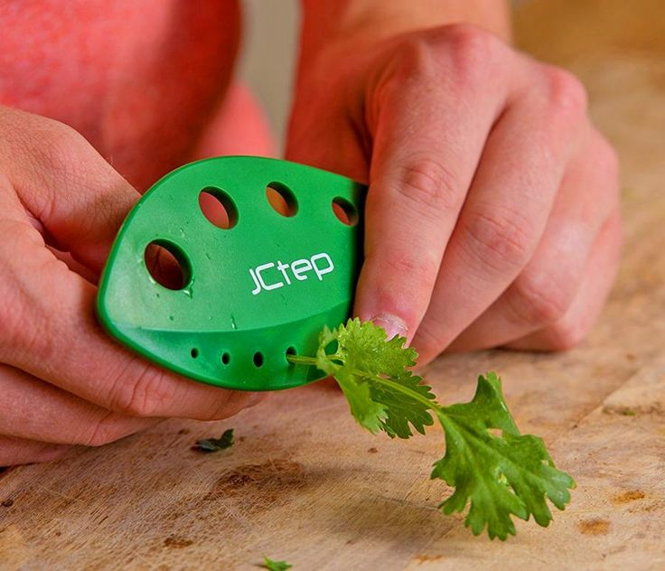 This Herb Stripper Easily Removes Herb Leaves From Any Sized Stem