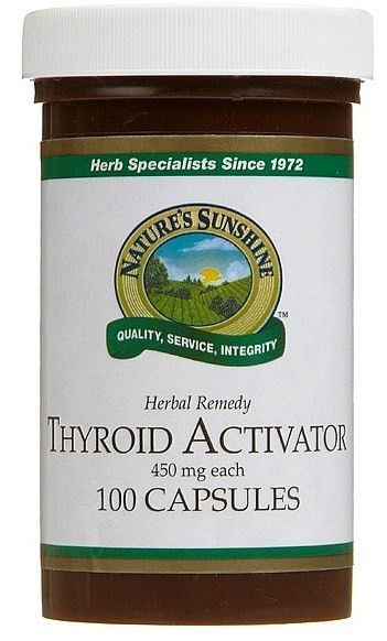 Nature's Sunshine Thyroid Activator 100 Capsules from Superior Supplements