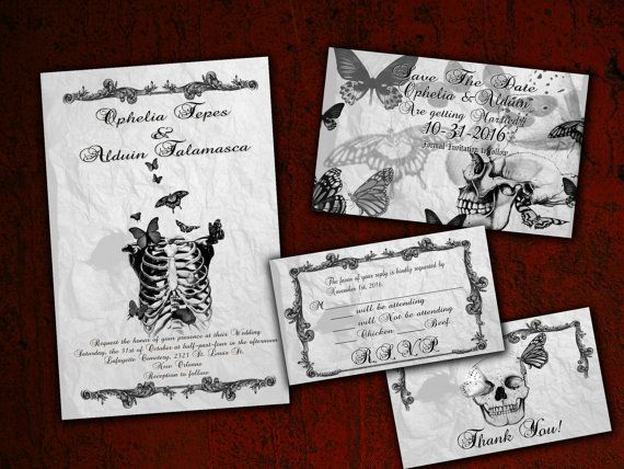 Halloween Wedding Invitation: Best 25+ Halloween Wedding Invitations Ideas On Pinterest